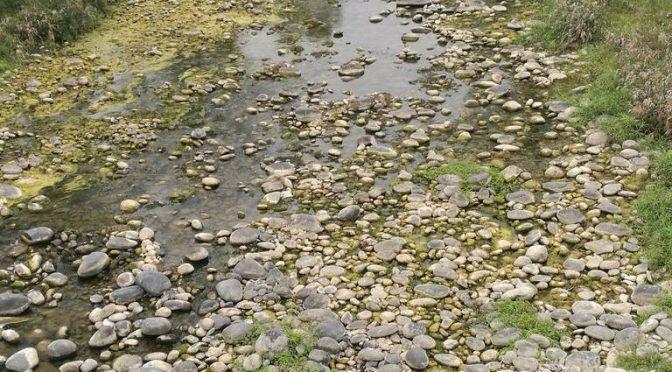 Hidalgo: Baja nivel del rio Candelaria que abastece agua a Huejutla (El sol de Tulancingo)