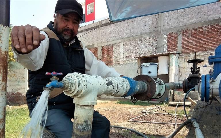 Hidalgo: Baja presión del agua potable en Tulancingo (El Sol de Hidalgo)