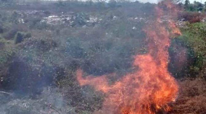 Michoacán: En riesgo de incendio, tiradero de basura San Juan Bosco (El Sol de Zamora)