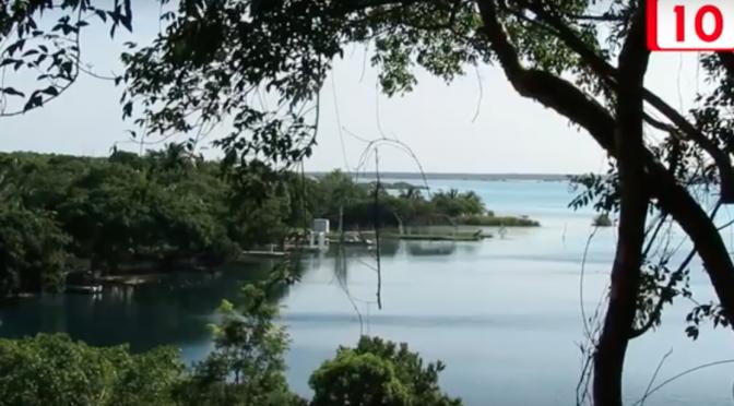 Quintana Roo: Se debe clarificar estado de la laguna de los 7 colores de Bacalar (Canal 10)