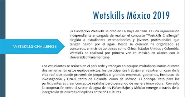 Wetskills México 2019