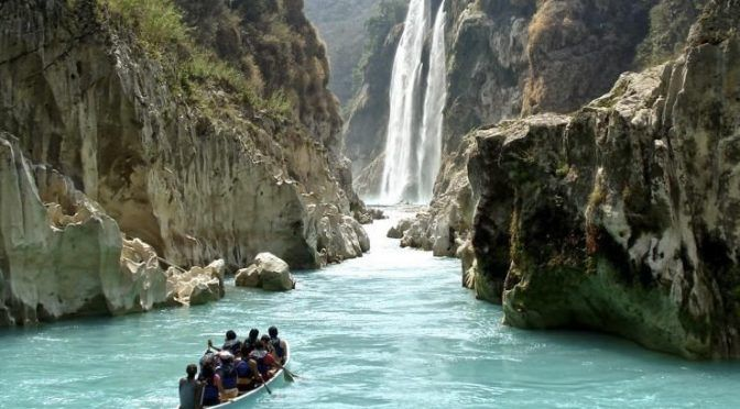 San Luis Potosí: Se trabaja con productores para la sustentabilidad de agua en la cascada de Tamul (inforural)