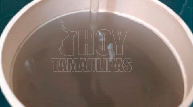 Tamaulipas: COMAPA Tampico manda agua turbia a usuarios; se quejan (Hoy Tamaulipas)