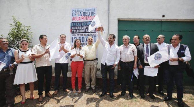 Inauguran la red de agua potable en dos colonias de Cuernavaca (El Sol de Cuernavaca)