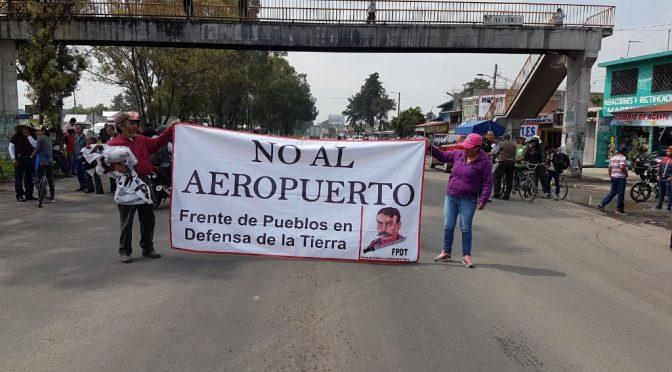CDMX: Demanda el FPDT restitución de 2 mil hectáreas en Atenco y Texcoco (La Jornada)