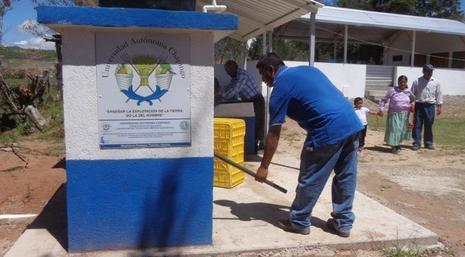 México: Chapingo crea módulos para captar agua de lluvia en comunidades marginadas (La jornada)