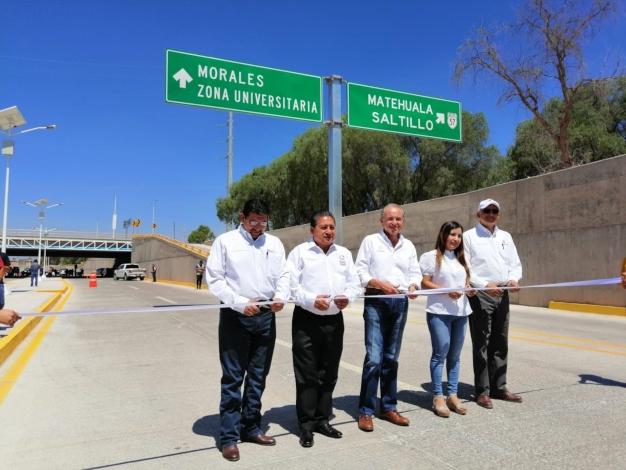 San Luis Potosí: Proyectos de movilidad e hidráulicos contribuyen al dinamismo de SLP: Carreras (La Jornada)