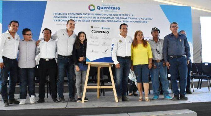 Querétaro: Capital queretana dotará de agua potable (Diario de Querétaro)