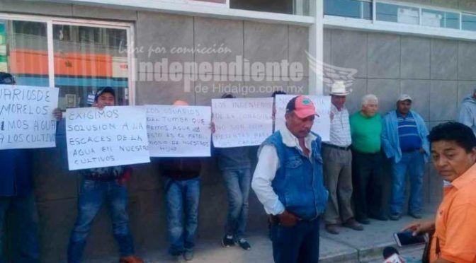 Hidalgo: Peligran decenas de hectáreas por falta de agua (El Independiente de Hidalgo)
