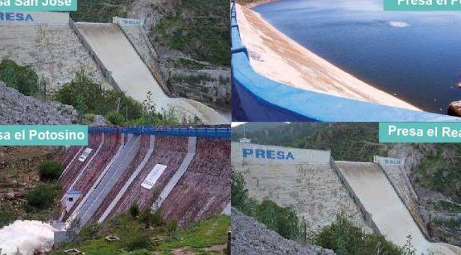 San Luis Potosí: Asegura Interapas tener suficiente agua para atender a habitantes de SLP (El Sol de San Luis)
