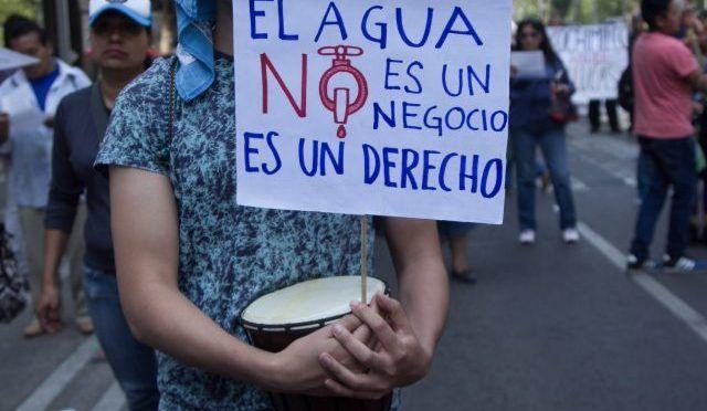 CDMX: Derecho humano al agua, propone diputada (Diario basta)