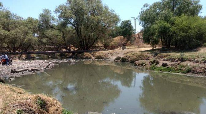 Aguascalientes: Olvidan autoridades contaminación en río (El Sol del Centro)