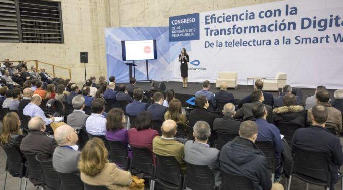 Valencia: EFIAQUA 2019 Abordará los retos digitales y medioambientales en la gestión urbana del agua (EFIAQUA)