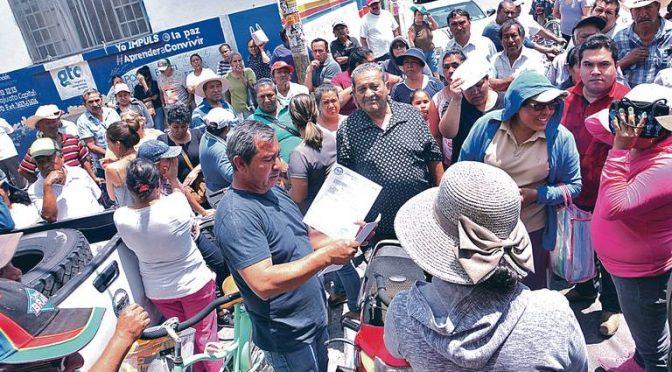 Guanajuato: Dejan sin agua a cinco mil personas en San Juan de la Vega (El Sol del Bajío)
