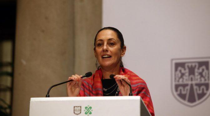 CdMx: Sheinbaum anuncia obras en avenida Hidalgo (La Jornada)