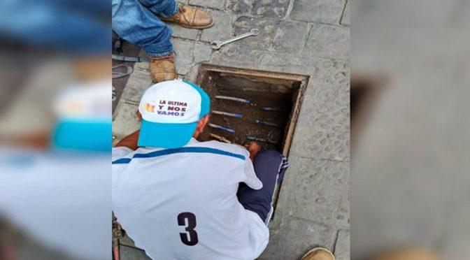 """Puebla: """"Huachicolean"""" agua potable en Huauchinango (El Sol de Puebla)"""