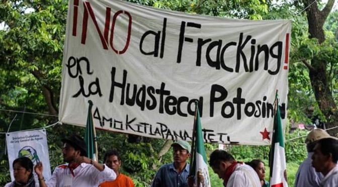 Nuevas movilizaciones indígenas contra el fracking en SLP (Quadrantín)