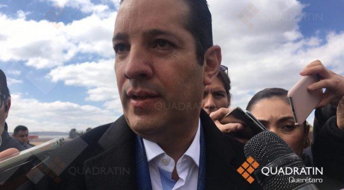 Querétaro: Descartó gobernador desabasto de agua para el 2021 en zona metropolitana (Quadrantín)