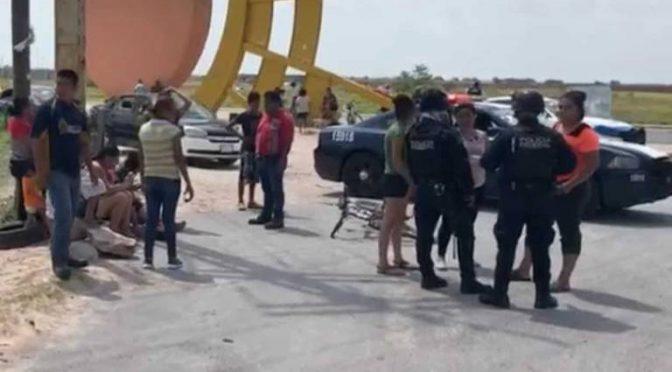 Tamaulipas: alarma por crisis de agua; protestan cerrando carretera y suspenden clases (El Sol de Tampico)