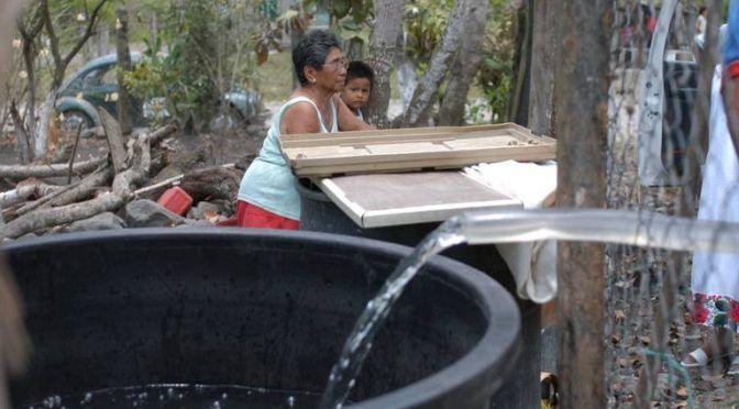 Veracruz: cuide el agua; por estiaje, CMAS pide racionar su uso (El Diario de Xalapa)