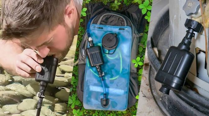 El purificador de agua que cabe en el bolsillo (El Imparcial)
