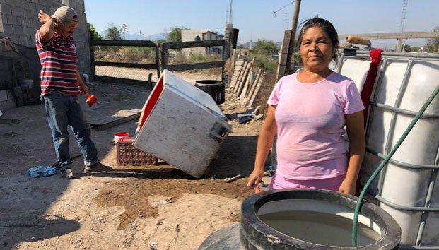 Coahuila: Almacenan agua y riesgo de dengue (zocalo)
