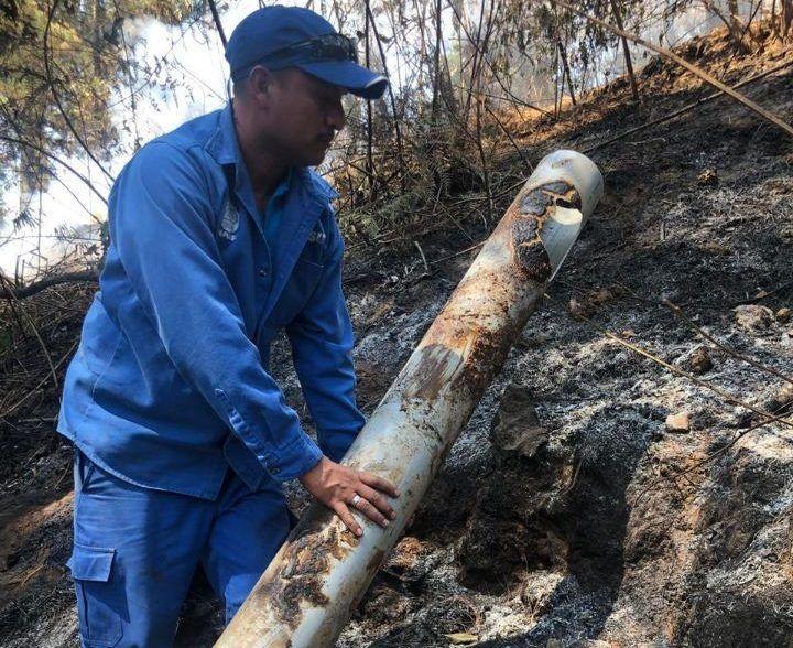 Michoacán: Incendio en Cerro de La Cruz Provoca Desbasto de Agua en 5 Colonias; Capasu Atiende Afectaciones (CDN)