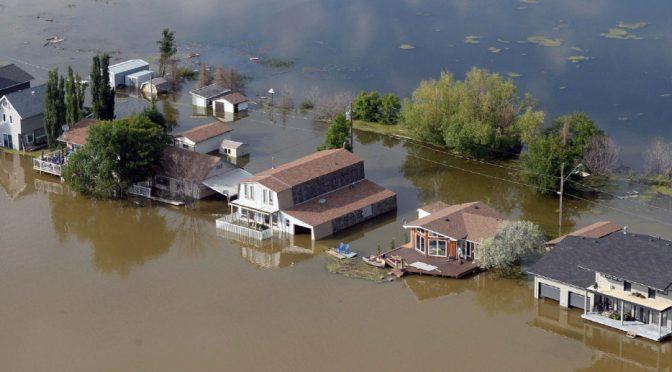 Canada: inundaciones rompen récord en Canadá por crecida del río Otawa (20 Minutos)