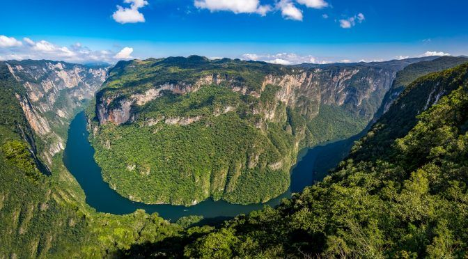 Chiapas: recuperan zonas invadidas en el parque nacional Cañón del Sumidero (El Universal)