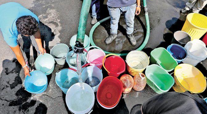 Guanajuato: Deja sin agua a más de 200 colonias por cierre de pozos (Milenio)