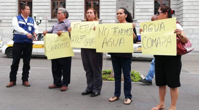 Tampico: Protestan por falta de agua desde hace 6 meses (Milenio)