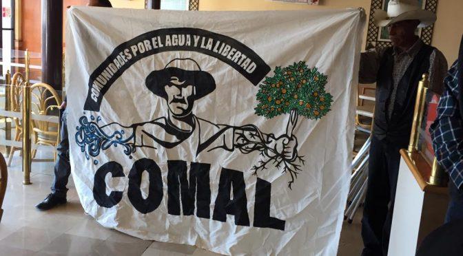 Zacatecas: Surge asociación anti Narro: comunidades por el agua (NTR)