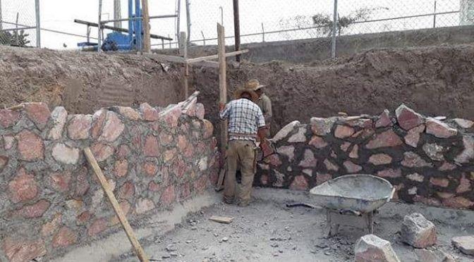 San Luis Potosí:  Construyen pileta en Villa de la Paz (Pulso)