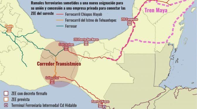 Oaxaca: Organizaciones sociales rechazan el Transístmico (El Universal)