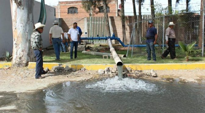 Michoacán: Sufre desabasto de agua 40% de la población de Sahuayo (Quadratin)
