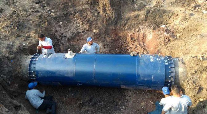 Acusan sabotaje a ductos de agua potable en Mazatlán (Milenio)