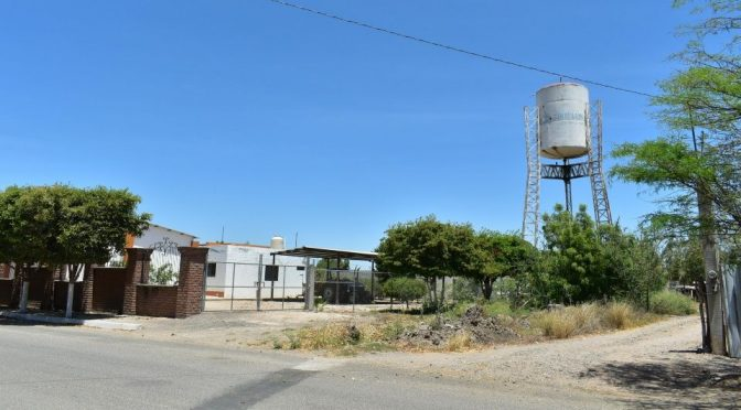 Sinaloa: Buscan cómo potabilizar agua en Capomos (Debate)