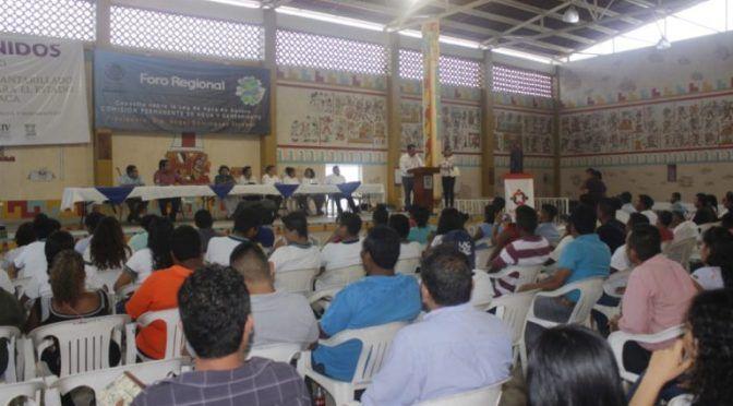 Oaxaca: Tututepec sede de Foro para consulta sobre Ley del Agua en el estado (publimar)