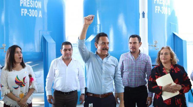 Hidalgo: Inaugura Fayad planta potabilizadora de agua (Milenio)