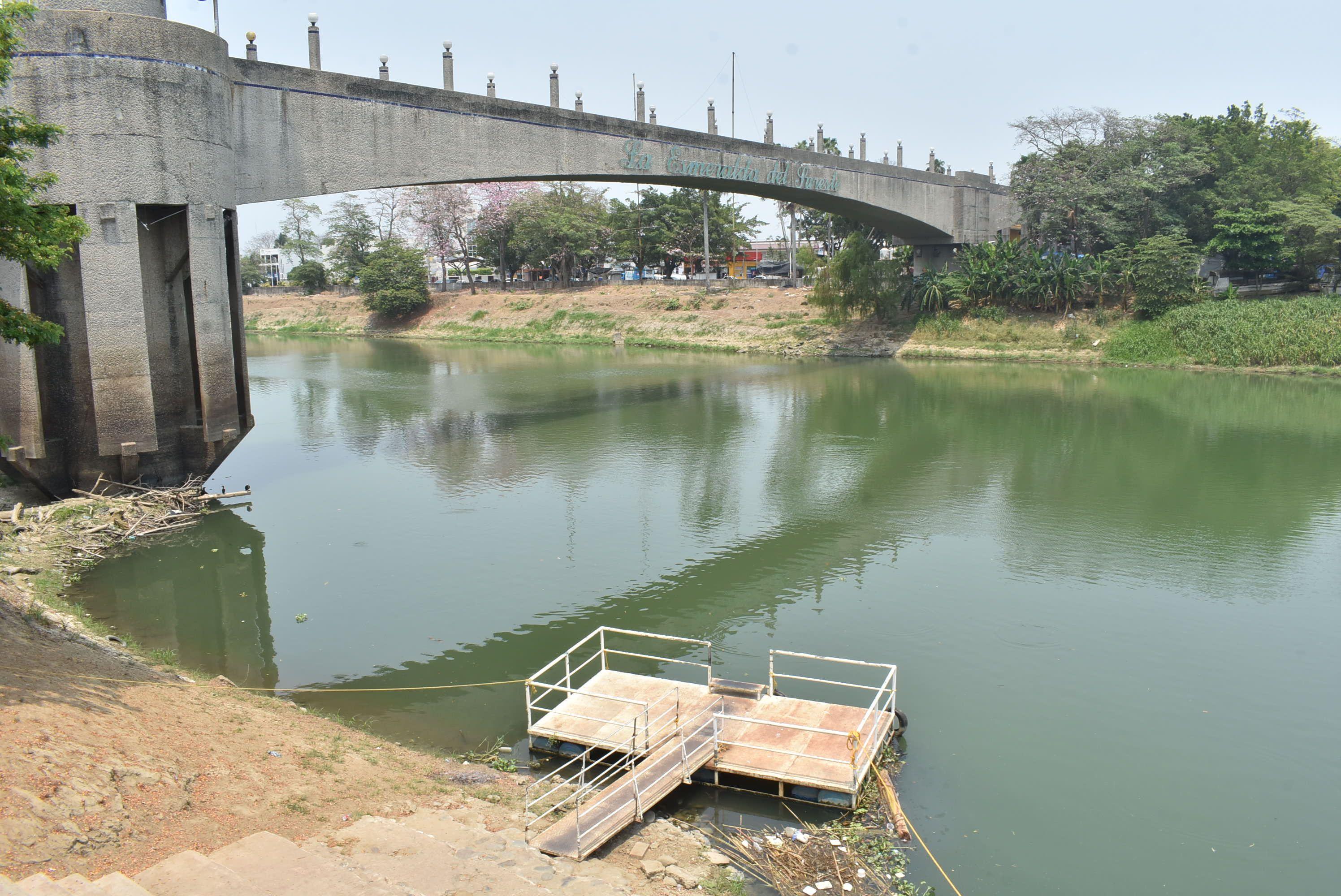 Tabasco: Por contaminación, proliferan las algas en el río Grijalva (Novedades de Tabasco)