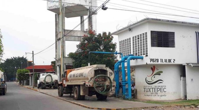 Oaxaca: Desabasto de agua en Tuxtepec (NVI Noticias)