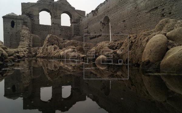 Chiapas: Convento colonial emerge de las aguas por sequía en el sureste de México (agencia EFE)