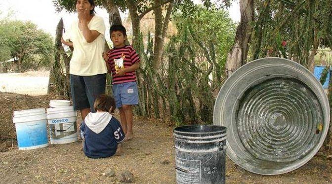 San Luis Potosí: Indígenas padecen la falta de agua (Pulso)