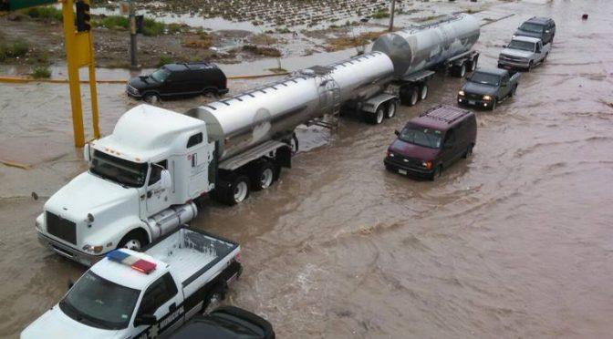 Chihuahua: Invertirán 8 mil millones de pesos para evitar que Juárez se inunde (El Mexicano)