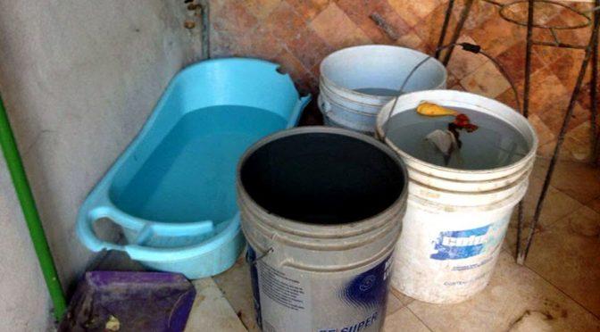 Veracruz: se quedan sin agua en Pánuco y pagan hasta 200 por tanque (Milenio)