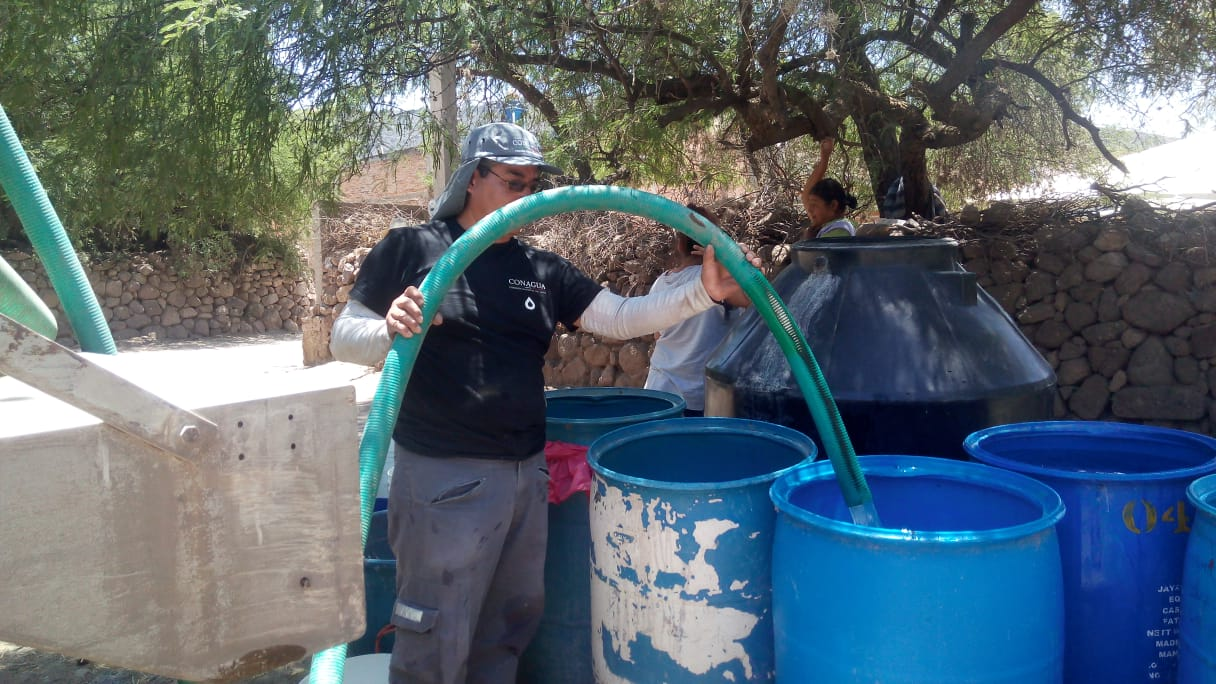 San Luis Potosí: Matehuala y Zaragoza se abastecen de agua con pipas (Plano Informativo)