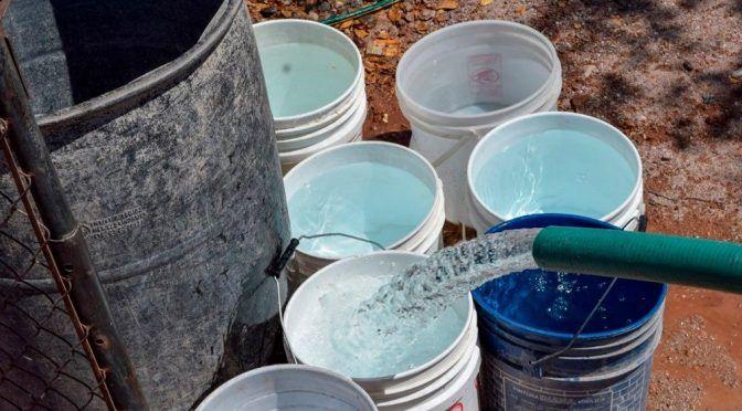"""San Luis Potosí: Endurecen """"tandeo"""" de agua en el norte (Pulso)"""