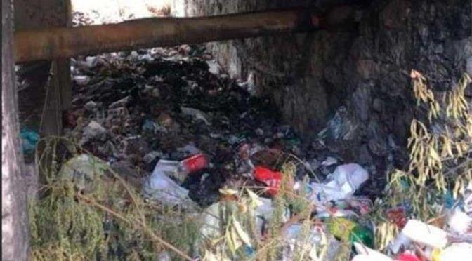 San Luis Potosí: Retiran basura de canales de agua (Pulso)