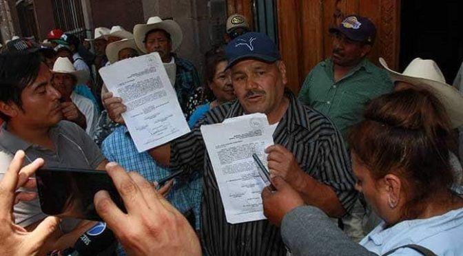 """San Luis Potosí: """"Revivieron hasta muertos"""" para la presa La Maroma (Pulso)"""