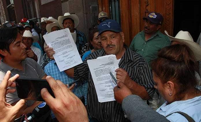 """San Luis Potosí: Revivieron hasta muertos"""" para la presa La Maroma (Pulso)"""